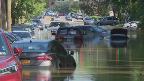 Storm-flooded cars may or may not be salvageable