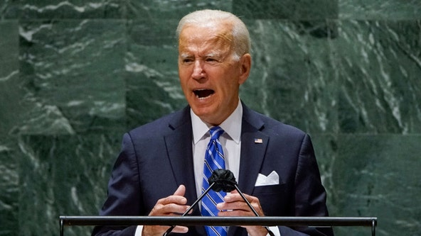 Biden tells UN the United States is not seeking 'new Cold War' with China
