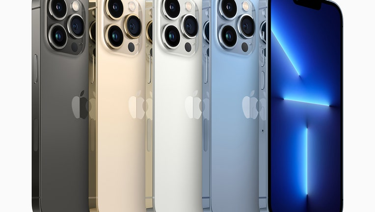 5 Apple iPhone 13 Pro handsets