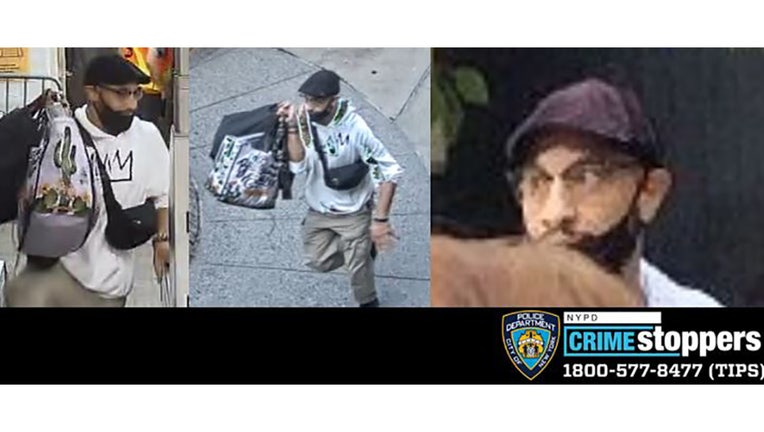 The NYPD wants to find this man in connection with a stabbing outside a Manhattan McDonald's.