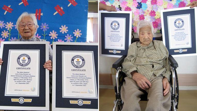 Umeno Sumiyama and Koume Kodama, are the world's Oldest identical twins (Guinness World Records)