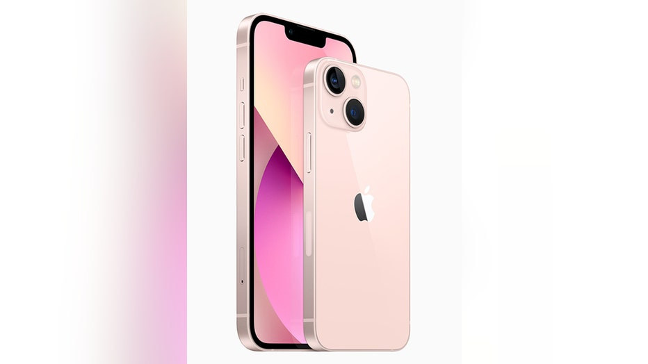 2 Apple iPhone 13 handsets