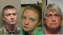 3 charged after 21-year-old woman found dismembered