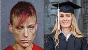 Former addict's astounding transformation to college graduate: 'Consider starting today'