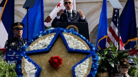 'Democracy survived': Biden pays tribute to fallen peace officers