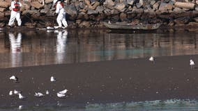 California oil spill: Authorities investigate if ship's anchor struck pipeline