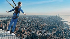 NYC's ultimate thrill? 'The Climb' lets daredevils scale skyscraper