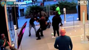 VIDEO:  Manhattan Apple store guard stabbed over mask policy