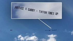 Gabby Petito case: Plane flies over Brian Laundrie home in Florida with 'Justice 4 Gabby' banner