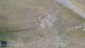 Extreme drought uncovers 'ghost town' hidden under Utah reservoir