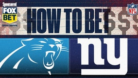 NFL odds: How to bet Giants vs. Panthers, point spread, more