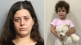 Police arrest mother accused of abandoning toddler at Miami hospital