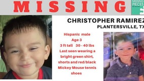 Texas toddler missing after chasing dog into woods