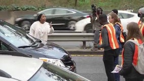 Protesters block Manhattan highways during rush hour