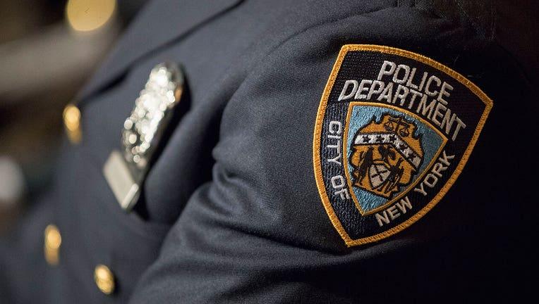 A closeup of a police uniform
