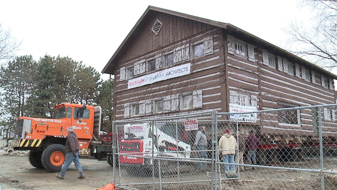 'People are amazed:' Wauwatosa's historic log cabin to be moved 1 mile by truck