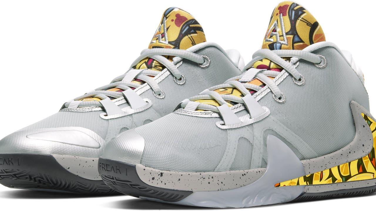 new Giannis Antetokounmpo signature shoe
