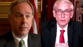 Gov. Evers, Speaker Vos speak out after lawsuit filed over 'Safer at Home'