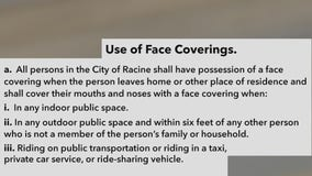 Racine to vote on mask ordinance, part of COVID-19 response
