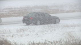 'Got to take it slow:' Snow covering ice leads to slick roads, crashes, disabled vehicles