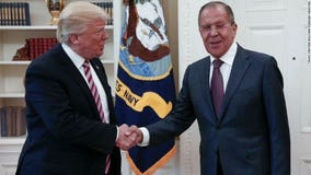 Report: President Trump shared secret info about IS with Russians