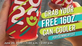 FREE limited edition: Summerfest giving away all 2020 can coolers meant for festival season