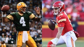 Brett Favre sees some of his own traits in Patrick Mahomes