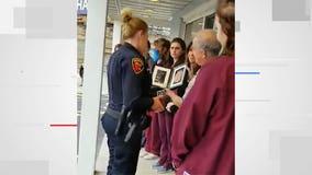 Video: Touching tribute for K9 Bud held at Sheboygan Animal Hospital