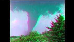 Tornado hit Oakfield, Wisconsin July 17, 1996