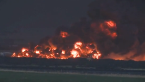 Fire at Colorado recycling facility spreads to 2 acres; officials using records from 1987 blaze to fight it