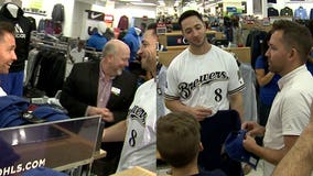 '1st Class Fans:' Ryan Braun surprises Bay View family during shopping spree at Kohl's