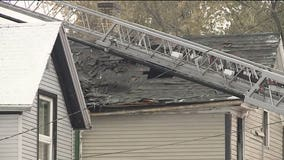 'Too much fire to get inside:' 2 injured, 1 seriously, following duplex fire in Racine