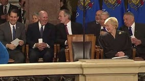 Former governors, others attend Tony Evers' inauguration in Madison