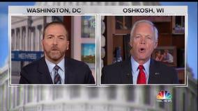 Political expert calls Senator Ron Johnson's 'Meet the Press' interview Washington at its worst
