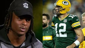 Davante Adams on Aaron Rodgers: 'Let's just calm down'