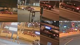 Greenfield police share new photos of truck wanted in hit-and-run that damaged squad