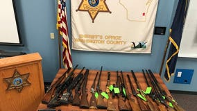 3 arrested in months-long burglary investigation in Washington Co., 20 firearms recovered