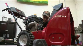 'Not thrilled with this:' More snow has homeowners, snowblower repair shops busy