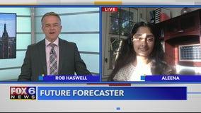 Future Forecaster 12-year-old Aleena