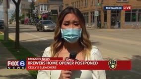 Brewers home opener postponed