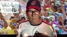 """""""Help is on the way!"""" Ricky 'Wild Thing' Vaughn will be in Cleveland for Game 7!"""