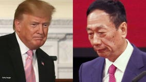 Pres. Trump met with Foxconn CEO Wednesday; promised to visit when production starts next year
