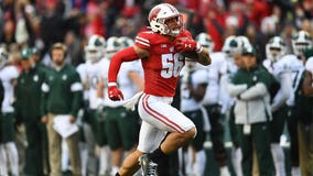 New Orleans Saints select Badgers' linebacker Zack Baun in 3rd round of NFL draft