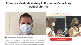 'Security we need:' Cedarburg school board votes to require masks after seniors launched petition