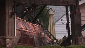 Firefighter recovering after battling garage fire in Racine, cause under investigation