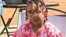 'Do something positive:' 7-year-old girl on mission to help friends less fortunate