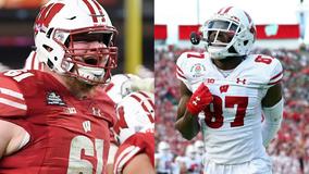 Cowboys draft Wisconsin offensive lineman Tyler Biadasz; Lions select Badgers' Quintez Cephus