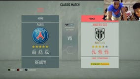 Life without basketball: AntetokounmBROS entertain with soccer match video game livestream