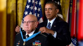 Medal of Honor recipient Bennie Adkins loses battle with coronavirus at 86