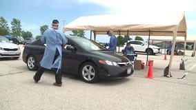 National Guard coronavirus test site returning to Waukesha County Expo Center July 27-28